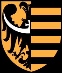 herb - powiat lubański